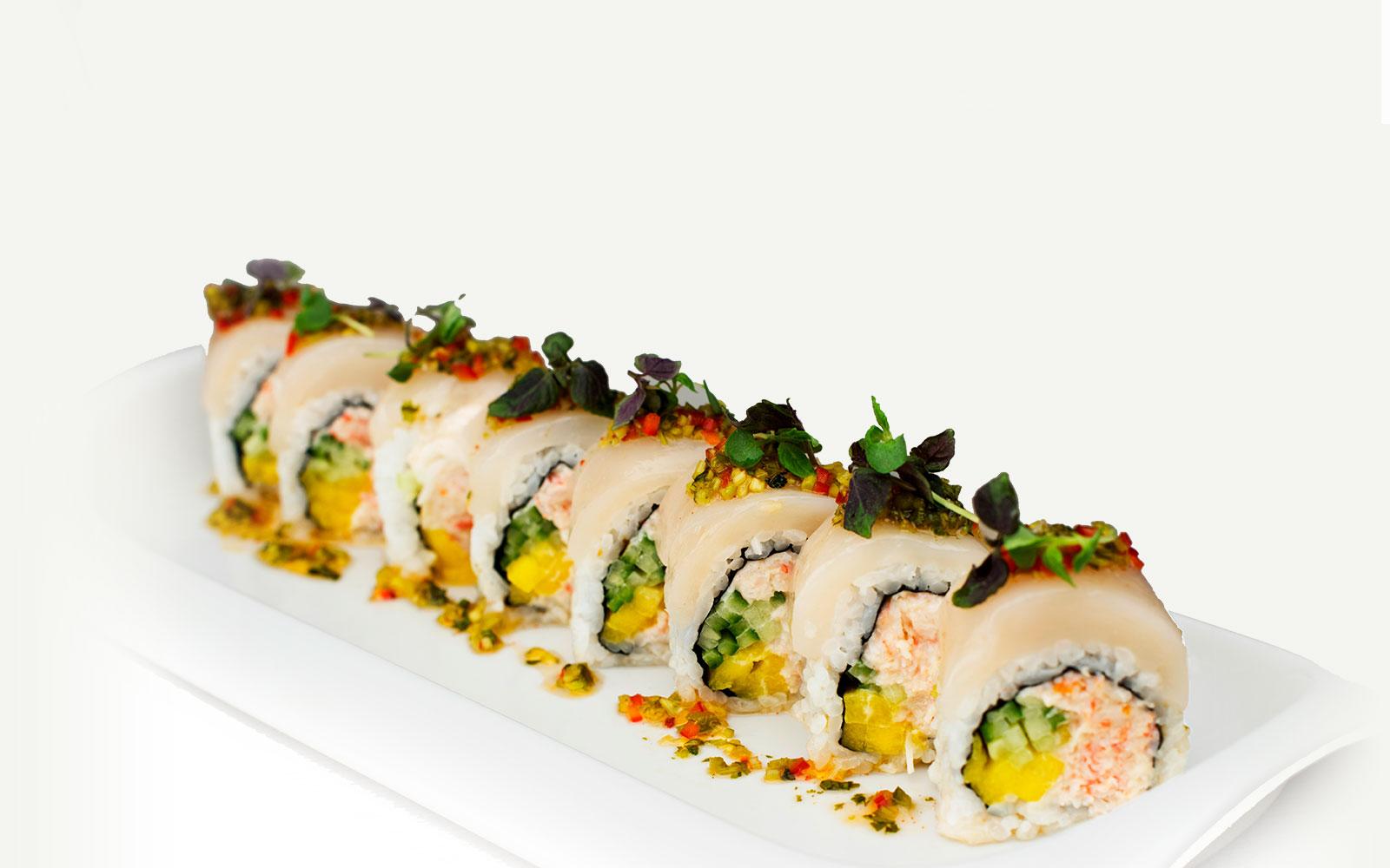 Thai Scallop Roll